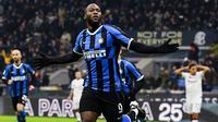 3. Romelu Lukaku (Inter Milan) - 17 Gol (4 Penalti).(AFP/Miguel Medina)