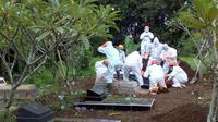 Seorang anggota tim sukses salah satu paslon di Pilkada Purbalingga meninggal dunia. (Foto: Liputan6.com/Rudal Afgani Dirgantara)