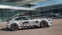 Mercedes-AMG GT R menjadi safety car untuk ajang F1 (Autoevolution).