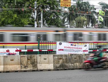Penutupan Perlintasan Kereta Api Sebidang