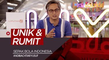 Berita video KLY Lounge kali ini berbincang dengan salah satu sutradara ternama Indonesia, Andibachtiar Yusuf, soal sepak bola dan olah raga di Indonesia. Bagaimana pendapat sutradara film Love for Sale ini?