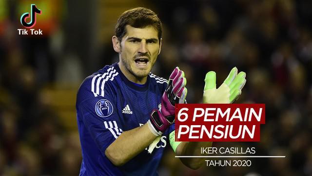 Berita video, termasuk Iker Casillas berikut 6 pesepak bola yang pensiun tahun ini