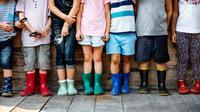Ilustrasi Foto Sepatu Anak-anak (iStockphoto)