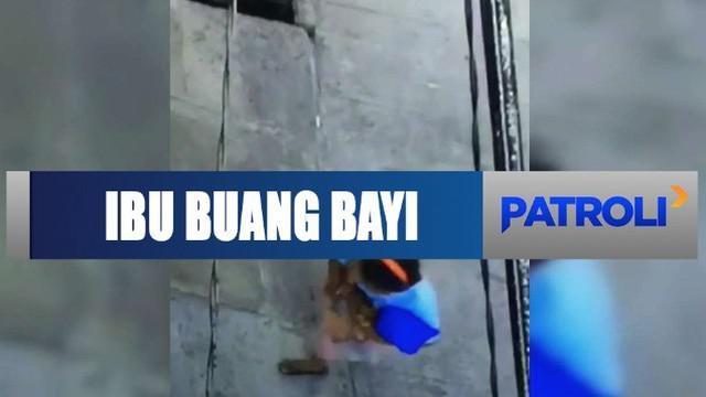 Seorang ibu yang membuang bayi kandung di Penjaringan, Jakarta Utara, akhirnya diserahkan ke polisi oleh suami sendiri.