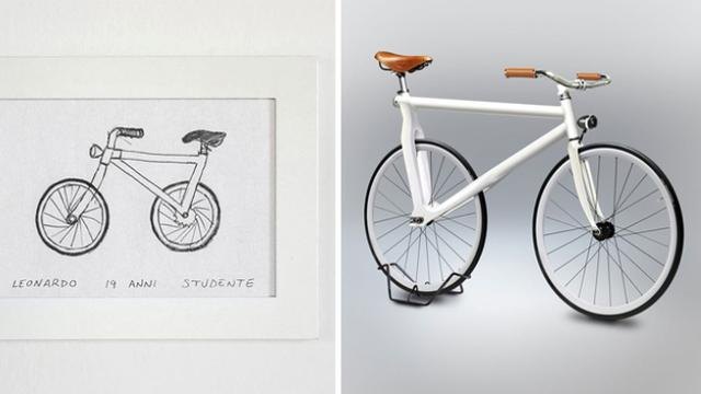Ratusan Sketsa Sepeda Dari Ingatan Direalisasikan Dalam Gambar 3d
