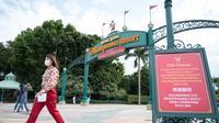 Hong Kong Disneyland Resort (AYAKA MCGILL / AFP)