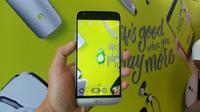 LG G5 SE. Liputan6.com/Mochamad Wahyu Hidayat