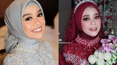 Viral Pengantin Wanita Disebut 'Kembaran' Lesty Kejora, Wajahnya Mirip Banget