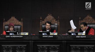 MK Gelar Sidang Perdana Sengketa Pemilu Legislatif 2019