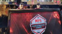 Final Mobile Premier League Piala Presiden Esports 2020 sudah dilakukan di Surabaya (istimewa)