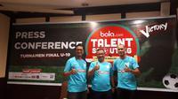 Final talent scouting Bola.com bertajuk From North Sumatra to Belgium akan dilakukan pada Minggu (24/6/2018) di Stadion Teladan, Medan. (Bola.com/Agung Prayogo)