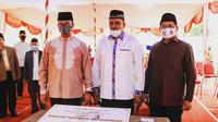 Anies Baswedan Resmikan Pembangunan Masjid Fatimah Muhammad (instagram Kota Administrasi Jakarta Selatan @kominfotikjs)