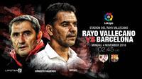 Rayo Vallecano vs Barcelona (Liputan6.com/Abdillah)