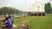 Ilustrasi Taj Mahal India (iStockphoto)