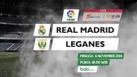 La Liga_Real Madrid Vs Leganes (Bola.com/Adreanus Titus)