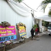 Suasana lokasi pernikahan Cut Tari (Daniel Kampua/Fimela.com)