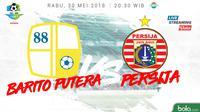 Jadwal Liga 1 2018, Barito Putera Vs Persija Jakarta. (Bola.com/Dody Iryawan)