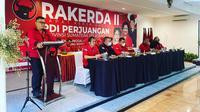 Ketua DPD PDI Perjuangan Sumsel M Giri Ramanda N Kiemas saat membuka Rakerda III PDI Perjuangan Sumsel (Dok. Humas PDI Perjuangan Sumsel / Nefri Inge)