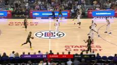 Berita video game recap NBA 2017-2018 antara LA Lakers melawan LA Clippers dengan skor 115-100.