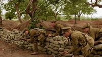 Parit pertahanan sangat lazim di Perang Dunia I