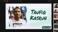 Ilustrasi - Konten Youtube Taufiq Kasrun (Bola.com/Adreanus Titus/ Foto: Abdi Satria)