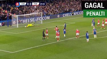 Berita video gelandang Cesc Fabregas gagal dalam eksekusi penalti pada laga perpisahannya dengan Chelsea ketika menghadapi Nottingham Forest, babak III Piala FA 2018-2019, Sabtu (5/1/2019).