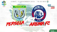 Liga 1 2018 Persela Lamongan Vs Arema FC (Bola.com/Adreanus Titus)