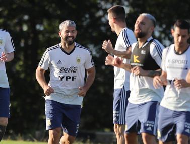 Intip Latihan Argentina dan Brasil Jelang Semifinal Copa America