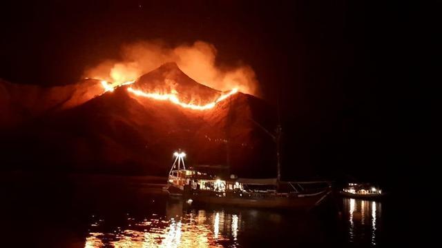 Kebakaran Taman Nasional Komodo