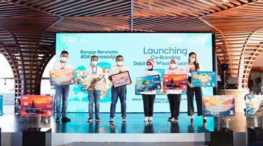 PT Bank Rakyat Indonesia Tbk (BRI) meluncurkan Co-branding Debit BRI Wisata Nusantara.