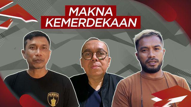 Berita video ucapan dan makna kemerdekaan Indonesia Ke-76 bagi insan sepak bola nasional