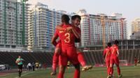 Witan Sulaeman berharap bisa memberikan penampilan terbaik selama Piala AFF 2019 agar dipromosikan ke Timnas senior. (Bola.com/Zulfirdaus Harahap)
