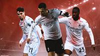 AC Milan - Brahim Diaz, Diogo Dalot, Fikayo Tomori (Bola.com/Adreanus Titus)