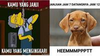 Meme orang janjian ketemu (Sumber: me.me)