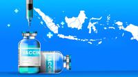 Ilustrasi vaksinasi Covid-19 di Indonesia (Liputan6.com / Triyasni)