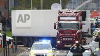 39 Jasad Ditemukan dalam truk di Essex, Inggris. (Source: AP/ Aaron Chown)