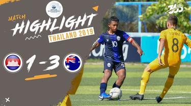 Berita video highlight Piala AFF U-15 2019 antara Kamboja melawan Australia yang berakhir dengan skor 1-3, Minggu (28/7/2019).