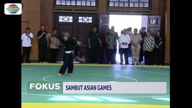 Presiden Jokowi pantau kesiapan venue Asian Games di TMII dan Ancol.