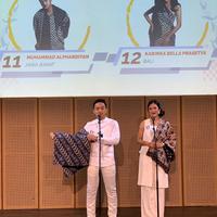 Finalis Putra Putri Batik Nusantara