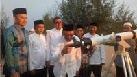 Hilal menandai masuknya bulan Syawal 1440 Hijriah tidak terlihat di Aceh hingga magrib ini, Senin, 3 Juni 2019.