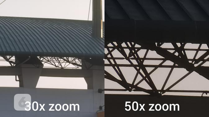 Hasil foto Huawei P40 Pro Plus dengan zoom (Liputan6.com/ Agustin Setyo W)