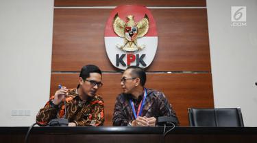 Dugaan Suap Auditor, KPK dan BPK Beri Keterangan Bersama