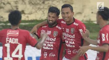 Bali United berhasil memenangi pertandingan pertama Piala Presiden 2018 Grup D di Stadion Kapten I Wayan Dipta, Gianyar. Menghadapi Borneo FC, tim berjuluk Serdadu Tridatu ini menang dramatis dengan skor 3-2.