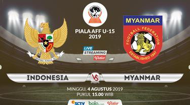 Indonesia U-15 vs Myanmar U-15