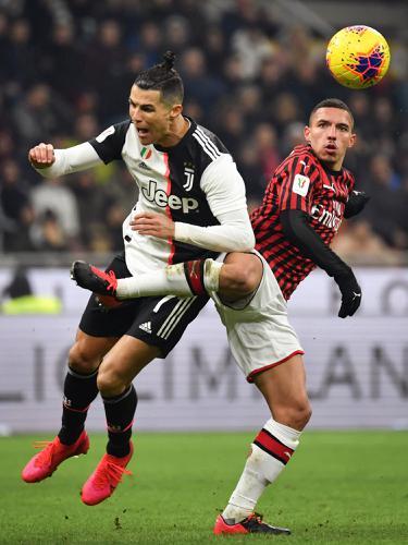 Juventus Ditahan Imbang AC Milan di San Siro