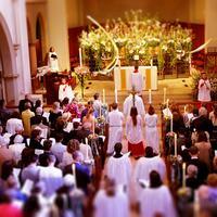 Mau mengirimkan ucapan selamat Paskah? Kamu bisa contek beberapa ucapan ini nih… (Foto: All Saints' Church, Beverly Hills)