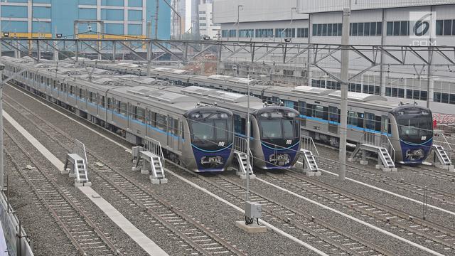 Fase 1 MRT Mencapai 96 Persen