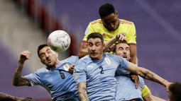 Kedua tim tampil terbuka dan saling jual beli serangan sepanjang 90 menit pertandingan. (Foto:AP/Bruna Prado)
