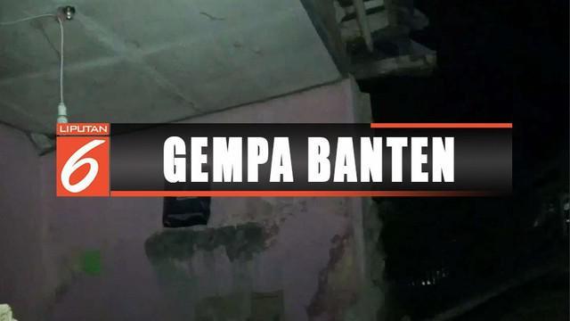 Gempa berkekuatan 6,9 SR di wilayah Banten merusak tujuh rumah di Megamendung, Bogor