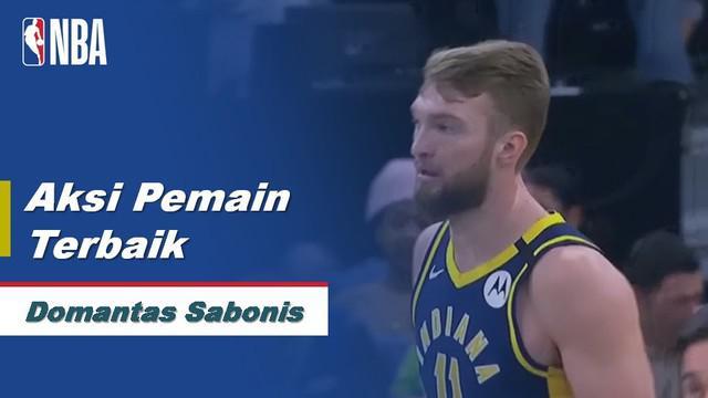 Berita Video Aksi-Aksi Domantas Sabonis Saat Indiana Pacers Kalahkan Minnesota Timberwolves 104-99